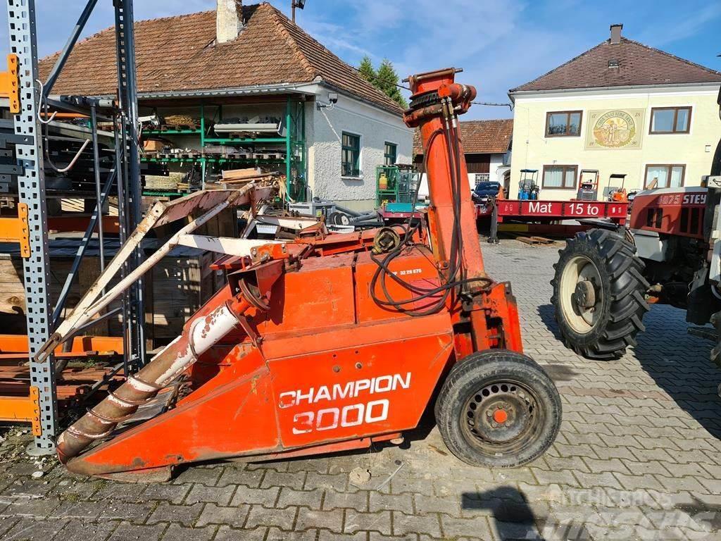 Kemper Champion 3000 für HECK & FRONTANBAU! mit Metalld