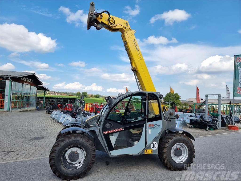 Kramer 2506 mit 6m Hubhöhe 2.500kg Traglast uvm