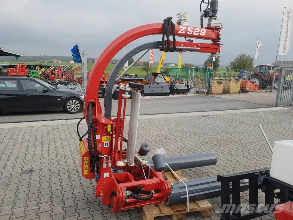Metal-Fach Z 529 Dreipunkt- Oberarmwickler +Wickelautomatik