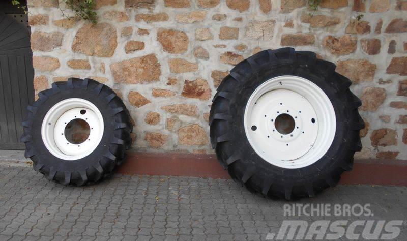 Michelin Agribib 13.6 R24 u. 420/85 R34