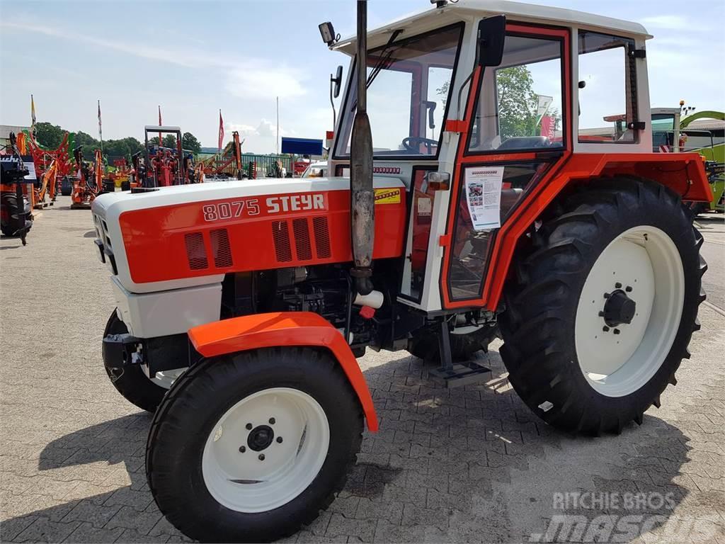steyr 8075 gebrauchte traktoren gebraucht kaufen und. Black Bedroom Furniture Sets. Home Design Ideas