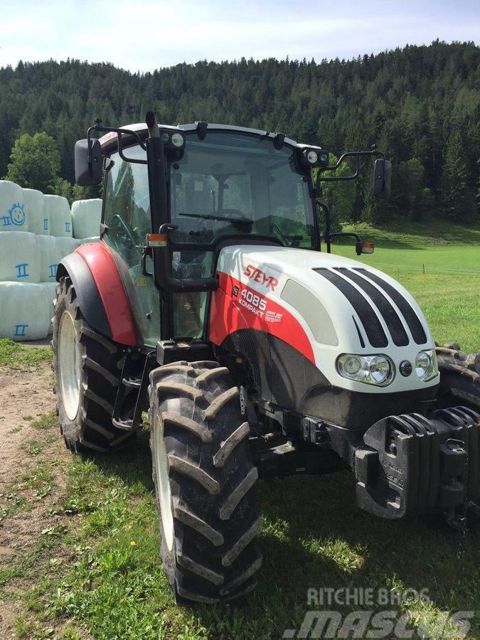 Used Steyr Kompakt 4085 Profi 1 tractors Year: 2013 for sale