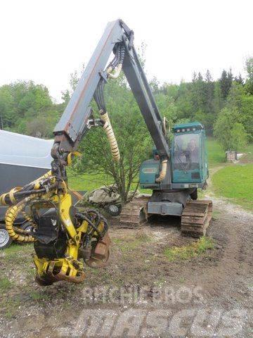 Timberjack 745 mit Neuson MHT 11002 Plus