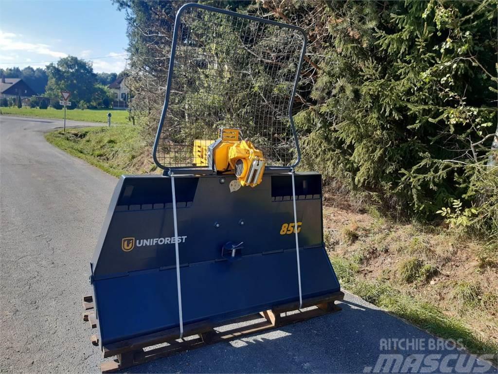 Uniforest 85GH-Stop mit hydraulischem Schild