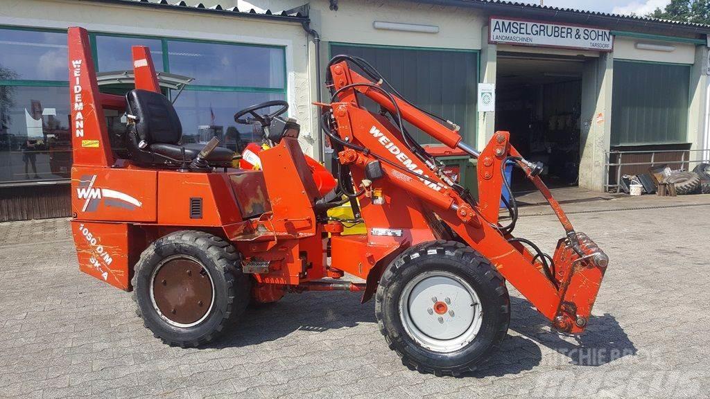 Weidemann 1050 mit Kardan & hydr. Geräteverriegelung