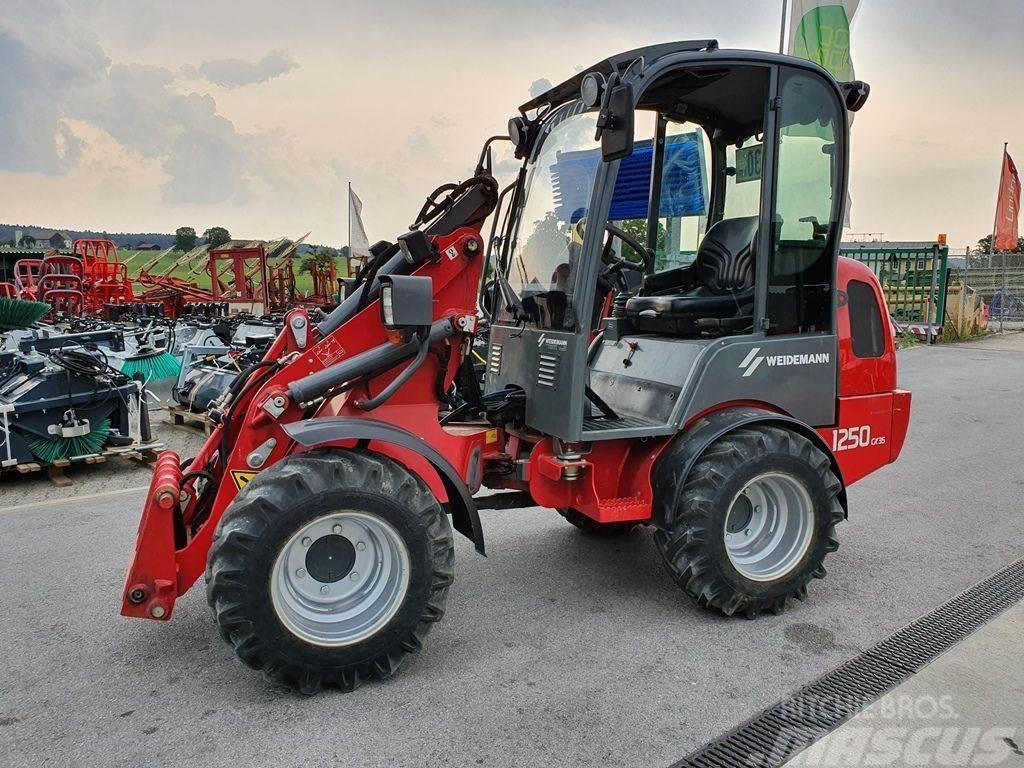 Weidemann 1250 CX 35 mit Kabine + StVo Beleuchtg Neuwertig