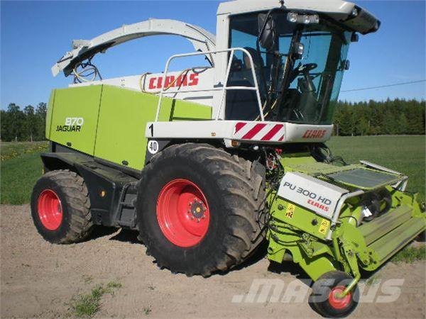 CLAAS JAGUAR 870 T3 SPEEDSTAR