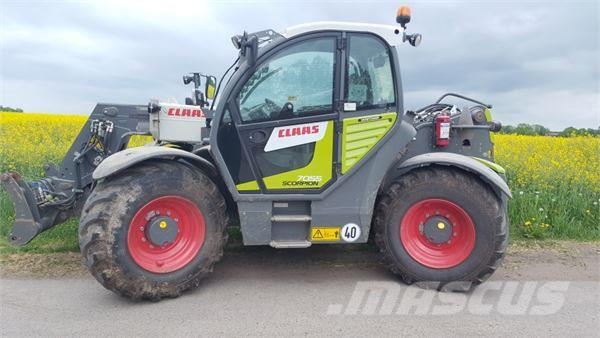 CLAAS SCORPION 7055 VP