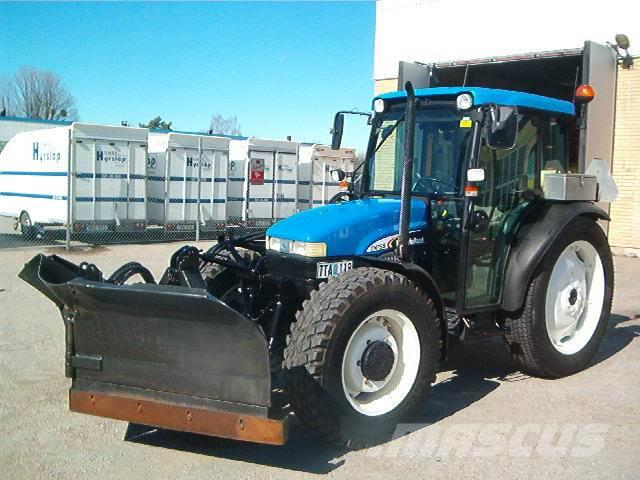 New Holland TN75S+FHOLMS VIKBLAD INGÅR