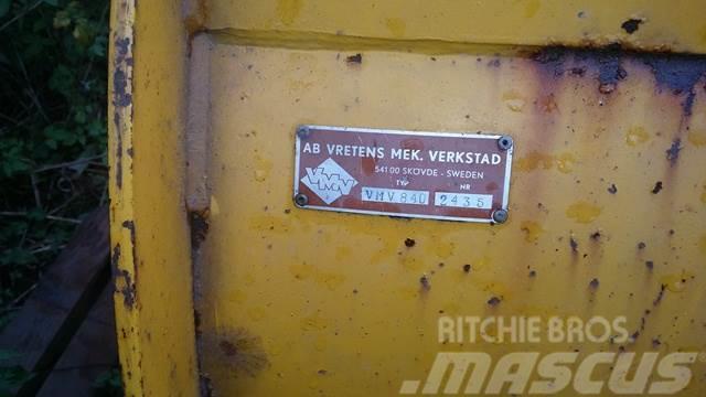 Vreten VMV 240+ BOM, Snöblad och plogar