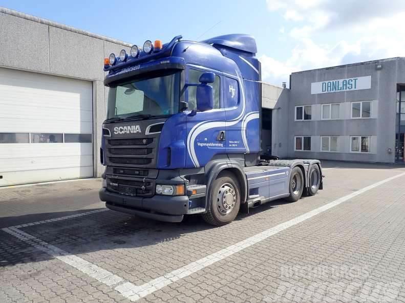 Scania R560 med hydraulik