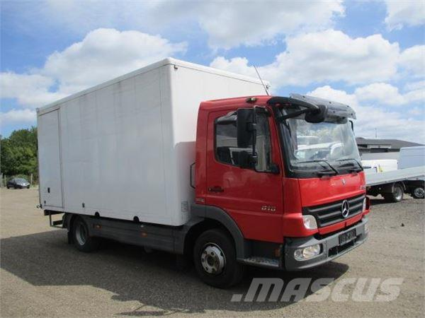 Mercedes-Benz ATEGO 816 ALUKASSE/LIFT