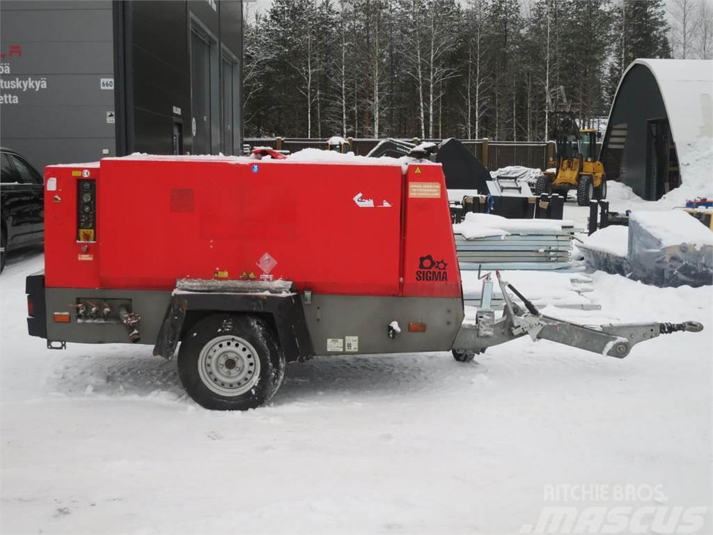 Kaeser M121 Vaunukompressori 12m3