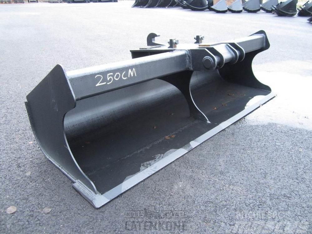 Laten Tasauskauha 2500mm NTP10 13-20ton Roto