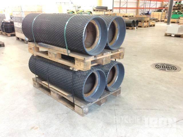 Metso Conveyor drive pulley drum 416x1260mm 340700