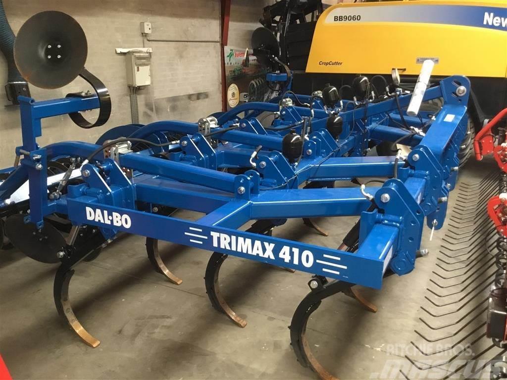 Dal-Bo TriMax 410 med T-ringsvalse , hydraulisk udløser o