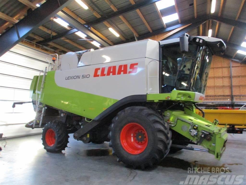 CLAAS LEXION 510 CEBIS Gård maskine med få timer.