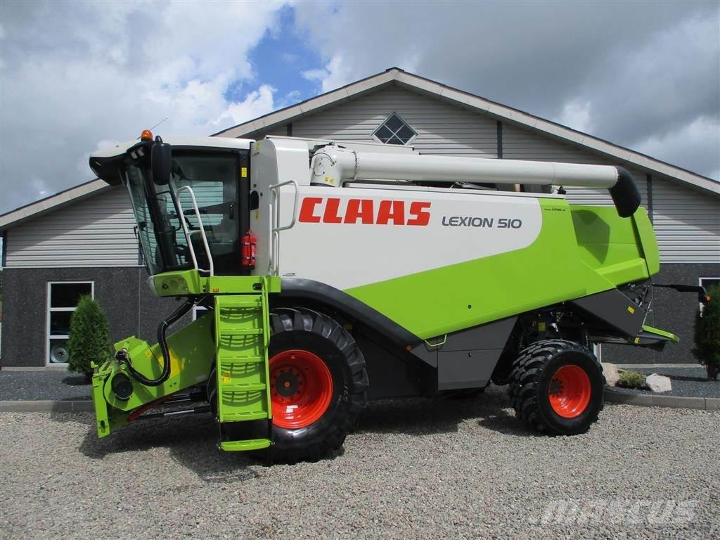 CLAAS LEXION 510 CEBIS Med 4wd & 3D sold