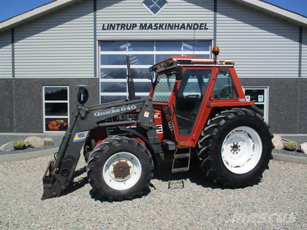used fiat 85 90 tractors year 1991 price 16 771 for sale mascus usa. Black Bedroom Furniture Sets. Home Design Ideas