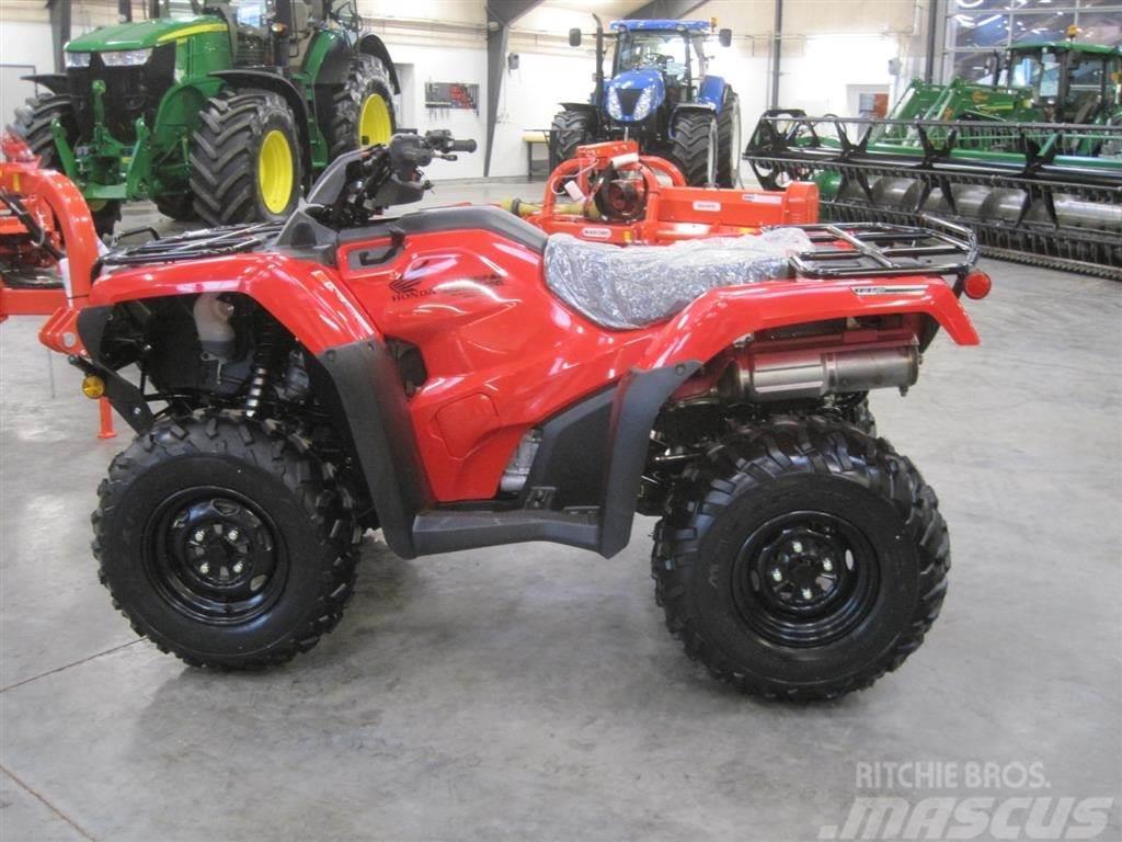 Honda TRX 420 FA Luksus 4wd ATV, med alt avancered udsty
