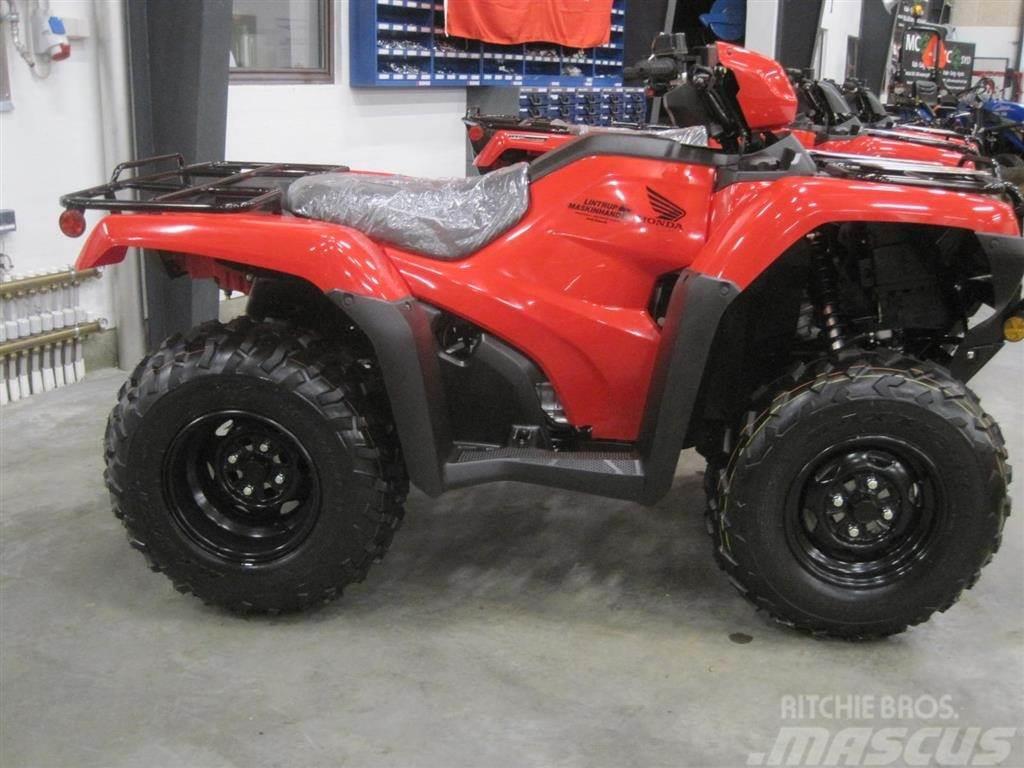 Honda TRX 500 FE Ægte kvalitets ATV, bygget til heavy du