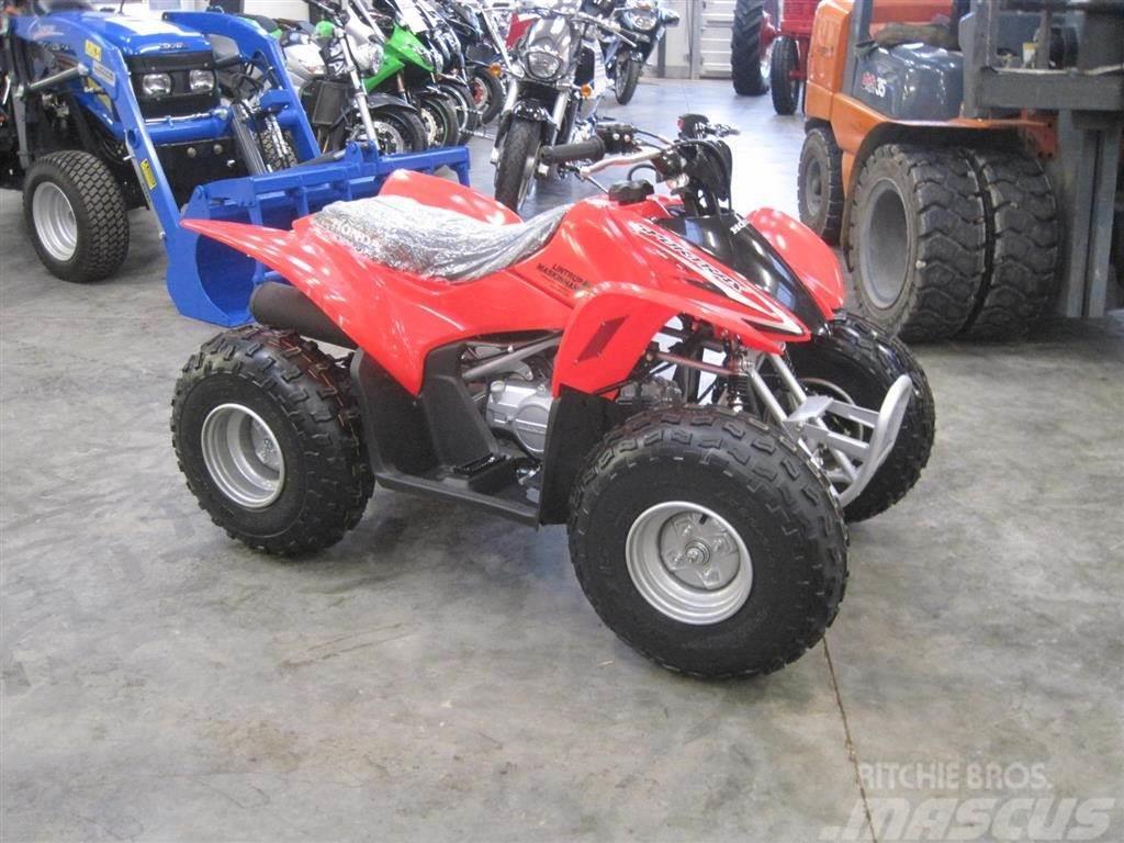 Honda TRX 90 X Kvalitets ATV som starter hver gang.