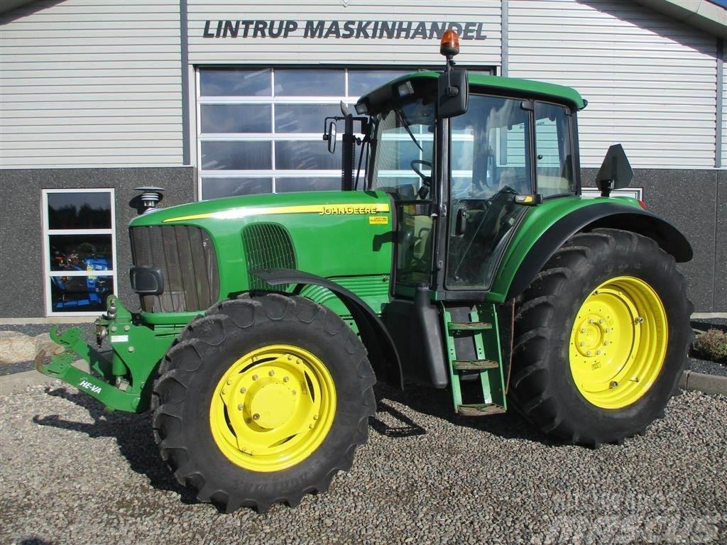 John Deere 6620 En ejers traktor fra ny, med frontlift på