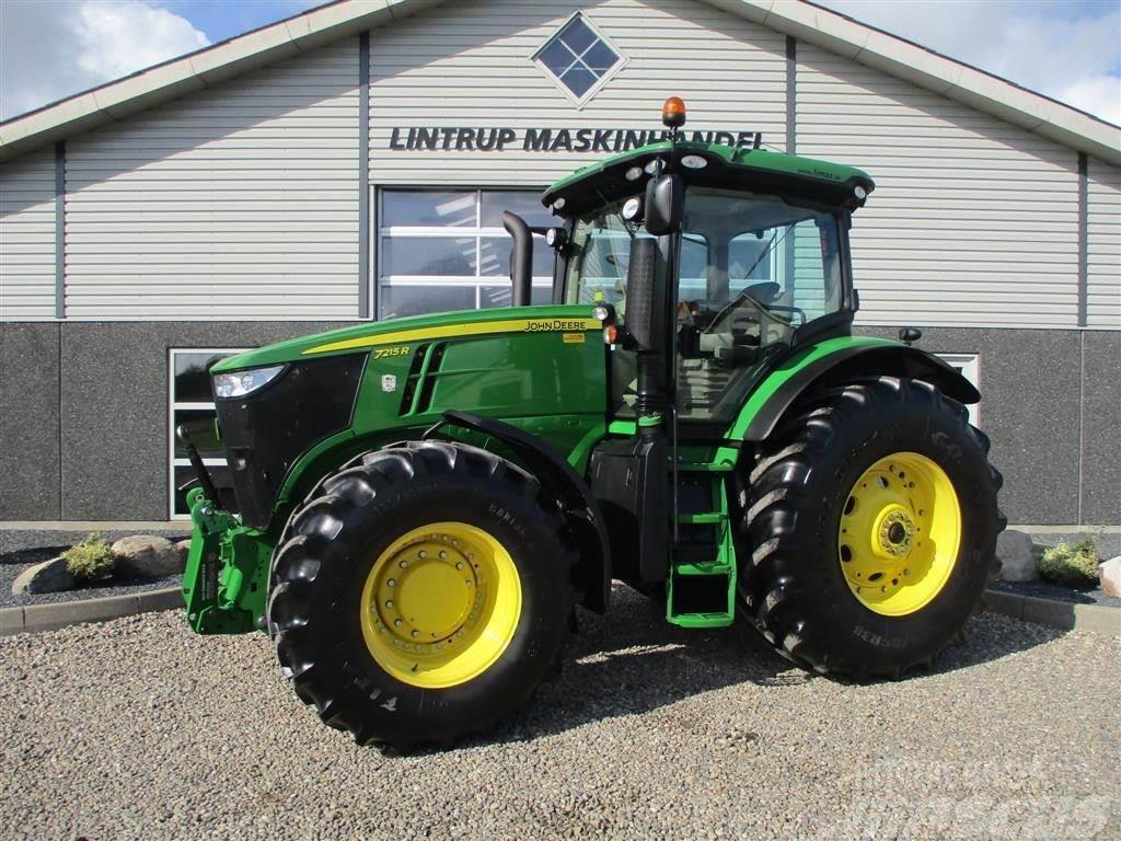 John Deere 7215R Med frontlift