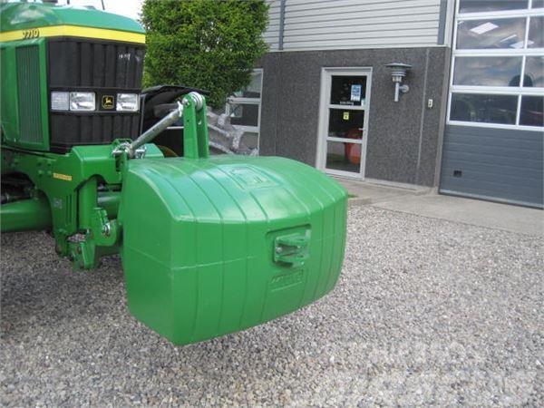 John Deere 1100 kg i John Deere grøn