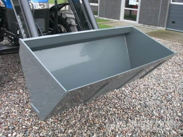 Limas Ny 2,2m Alm. skovl med Euro, Front loader accessories