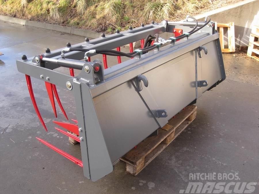 Limas Siloklo med Eurobeslag 2,0m, Front loader accessories