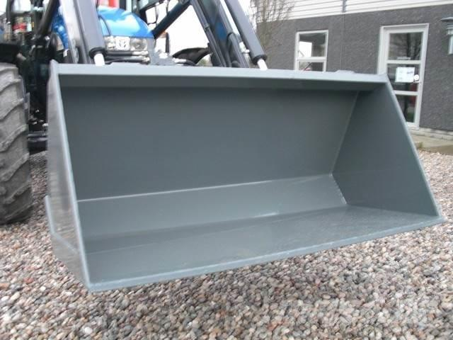 Limas Ny 1,5m Alm. skovl med Euro, Front loader accessories