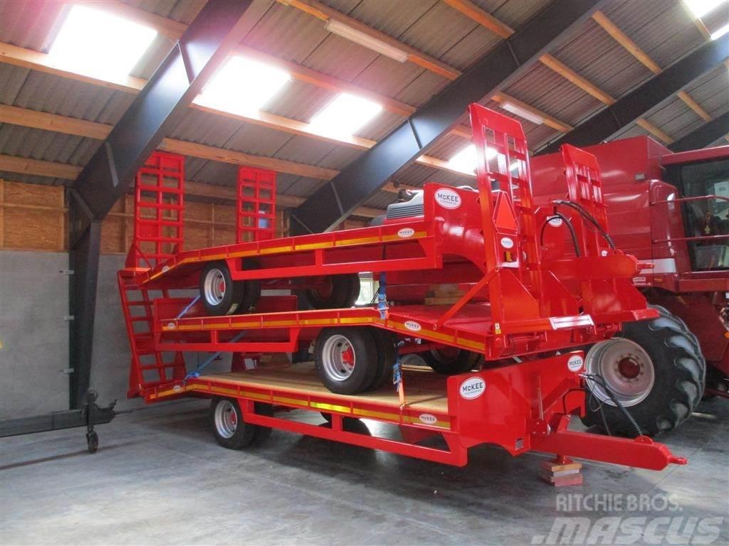 McKee Maskintransport vogn Med hydraulisk støtteben