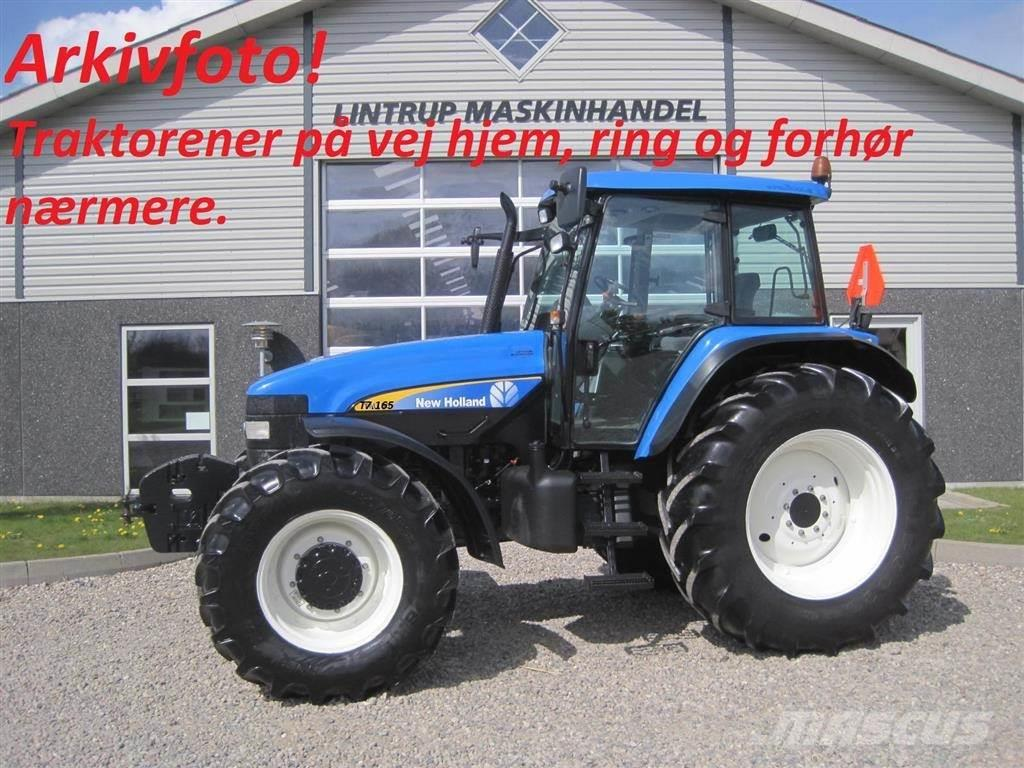 New Holland T7.165 Med Frontlift & frontPTO