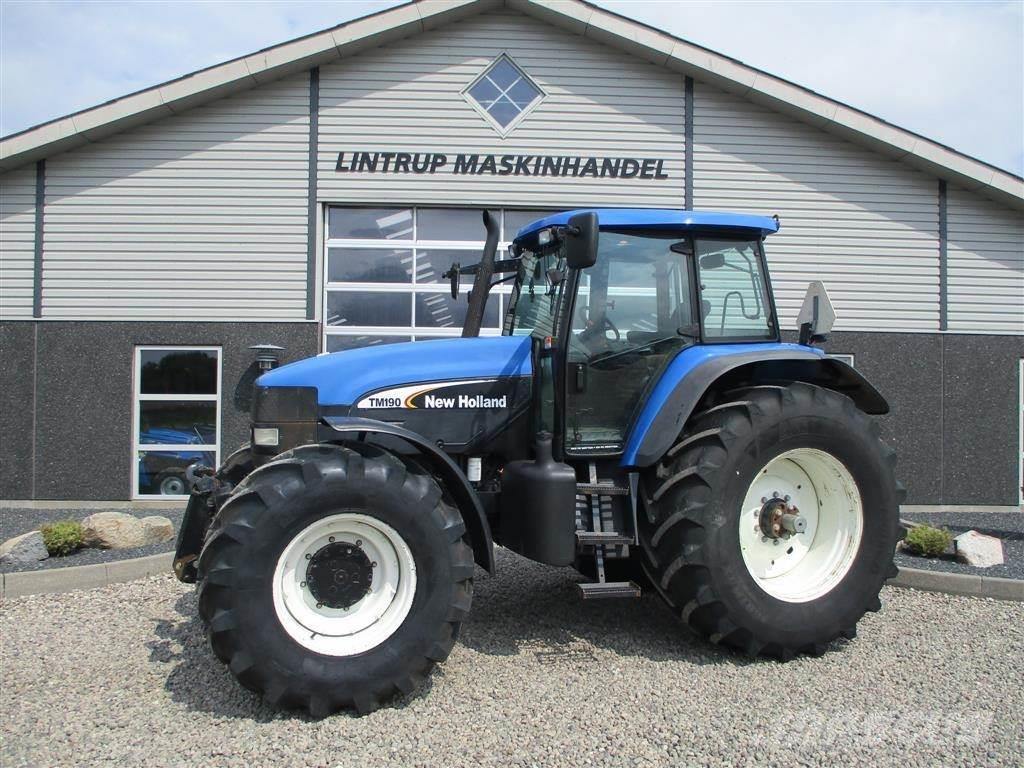 New Holland TM190 SS Med frontlift