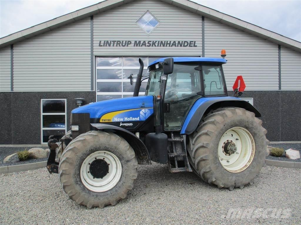 New Holland TM 190 SS Med frontlift