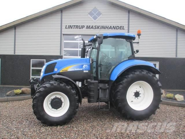 New Holland T6080 Med frontlift
