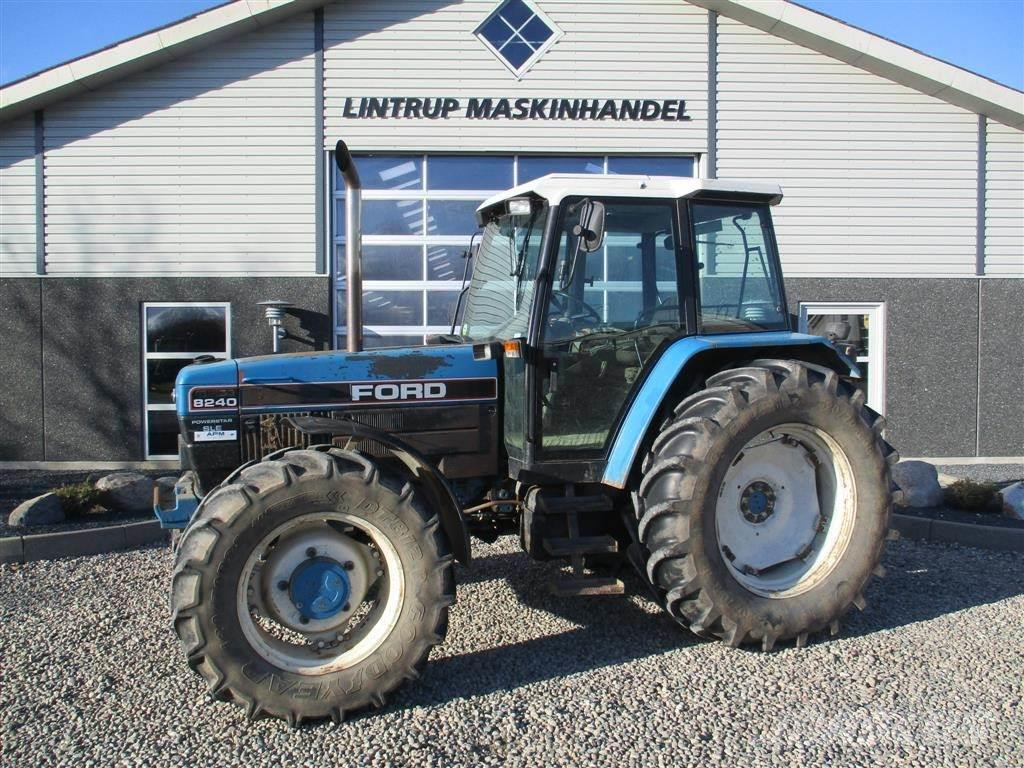 New Holland 8240 SLE Med Turbo