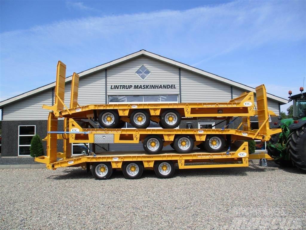 [Other] PF Trailers 3 akslet Blokvogn 22.5 ton lastevne Af