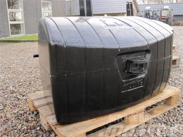 [Other] 650 kg vægtklods
