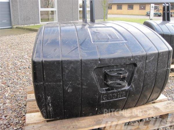 [Other] 1100 kg vægtklods