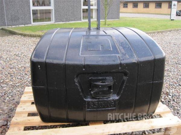 [Other] 900 kg vægtklods