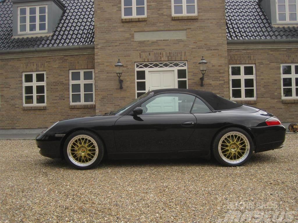 Porsche 911 med afgift, mauel-gear og cabriolet