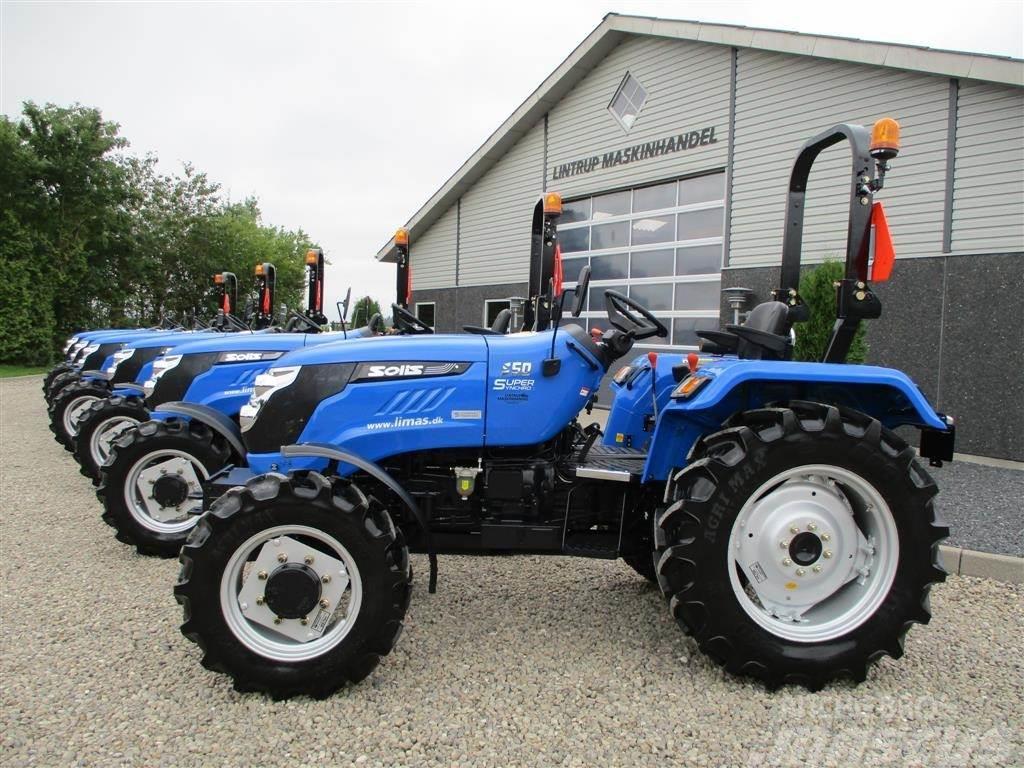 Solis 50 Fabriksny traktor til små penge