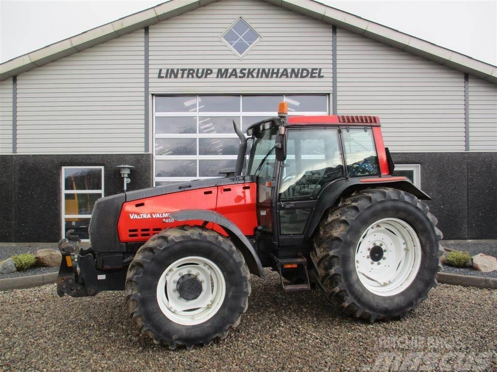 Valtra 8450 Med frontlift