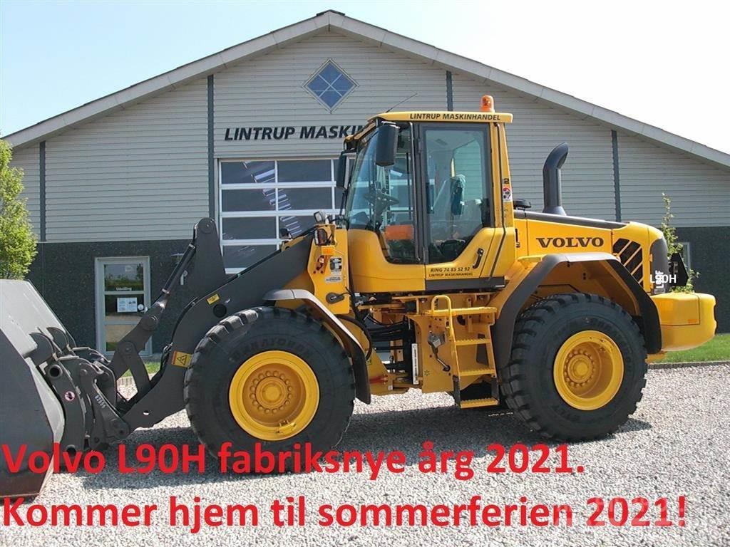 Volvo L 90 H Entrepenør edition, Dansk maskine med alt u