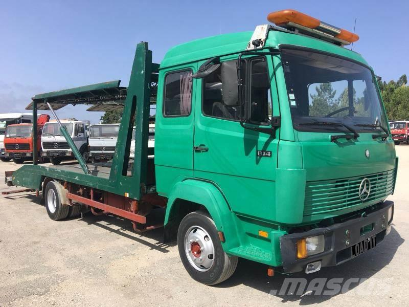Used Mercedes-Benz 814 Recovery Truck for 3 cars recovery vehicles ...