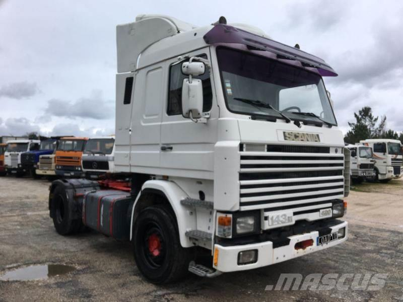 scania 143m 400 topline v8 engine occasion ann e d 39 immatriculation 1992 tracteur routier. Black Bedroom Furniture Sets. Home Design Ideas