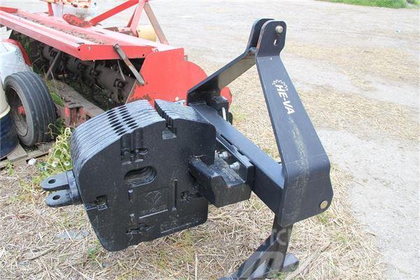 He-Va frontvægt ramme med 450 kg
