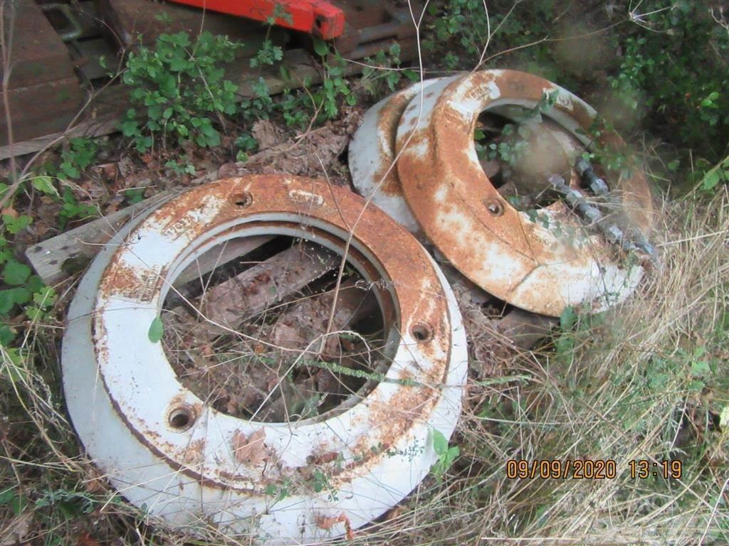 New Holland Hjul vægte